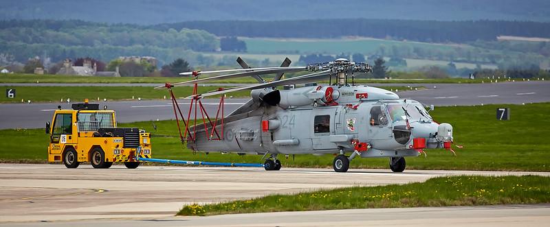 Sikorsky SH-60 Romeo Seahawk at RAF Lossiemouth - 9 May 2018