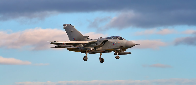 RAF Panavia Tornado GR.1 (ZD790) at RAF Lossiemouth - 6 March 2007