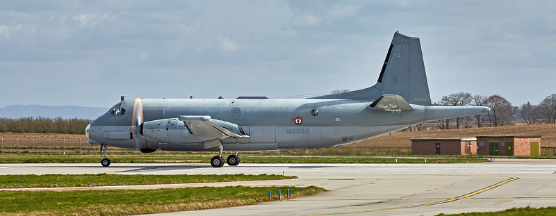 ATL3 Atlantique Maritime Patrol Aircraft at Lossiemouth - 12 April 2016