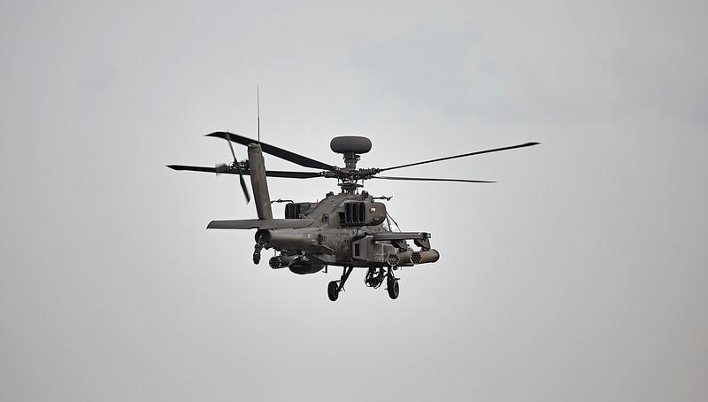Westland Apache AH.1 (ZJ184) at RAF Lossiemouth - 11 May 2018