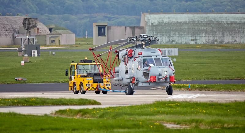 Sikorsky SH-60 Seahawk at RAF Lossiemouth - 9 May 2018