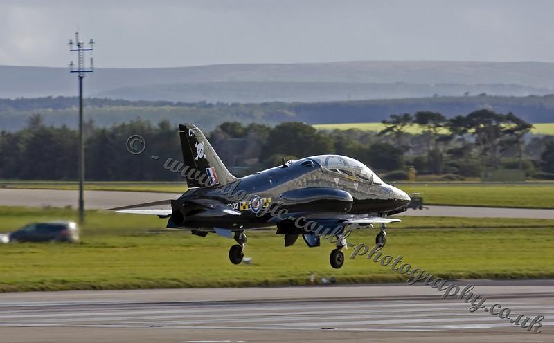 Hawk Landing 100 Sqn Hawk - Lossiemouth