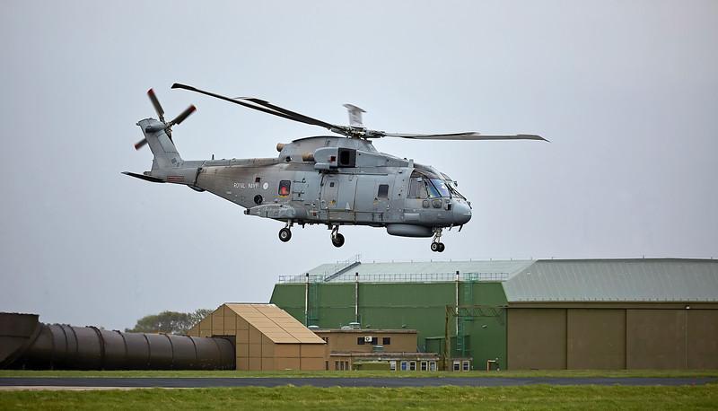 Agusta-Westland Merlin HM.1 (ZH861) at RAF Lossiemouth - 11 May 2018