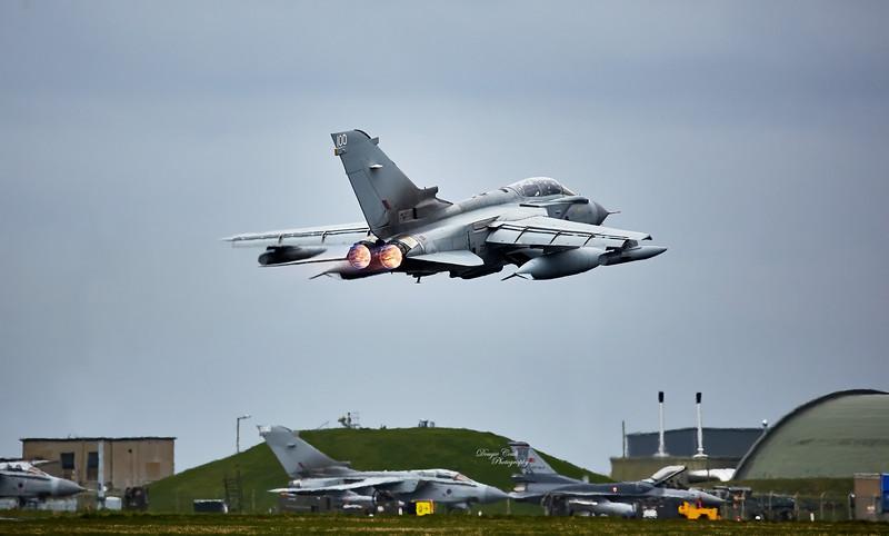 Tornado at RAF Lossiemouth - 13 April 2016