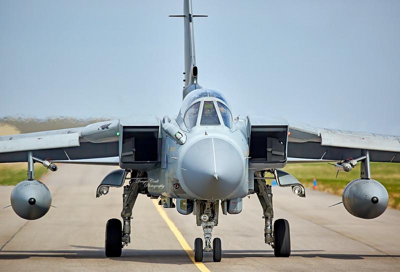 Tornado 074 at RAF Lossiemouth - 12 April 2016