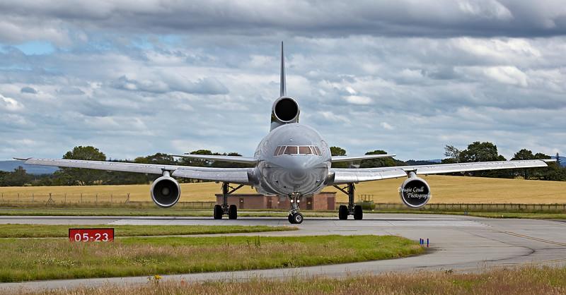 Lockheed Tristar (ZD951) at RAF Lossiemouth - 9 August 2012