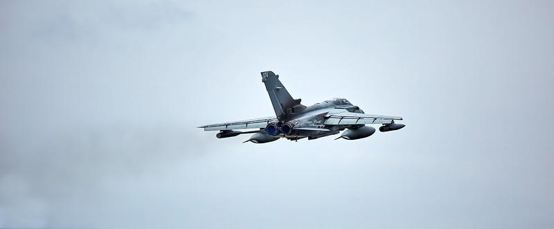 Tornado (ZA612) at RAF Lossiemouth - 13 April 2016
