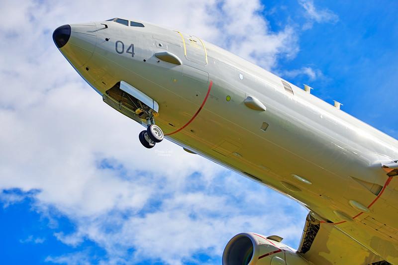 RAF Boeing P-8 Poseidon (ZP804) at RAF Lossiemouth - 7 June 2021