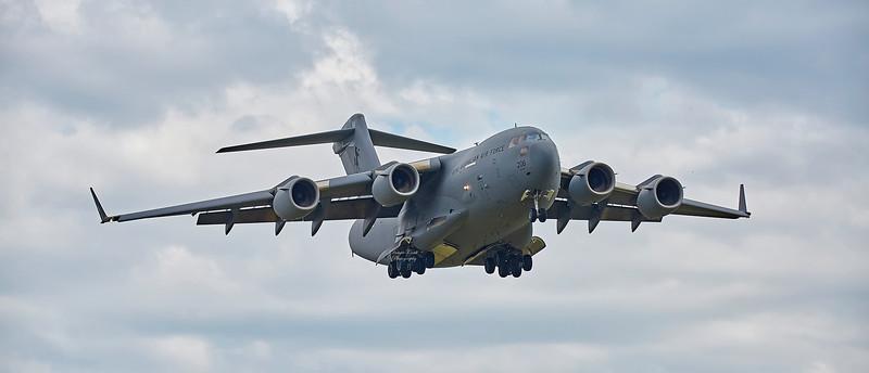 Royal Australian Air Force C17 (A41-206) at RAF Lossiemouth - 8 May 2018