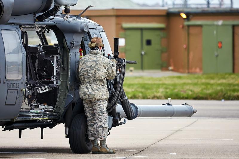 USAF Sikorsky Pave Hawk at Lossiemout - 13 April 2016