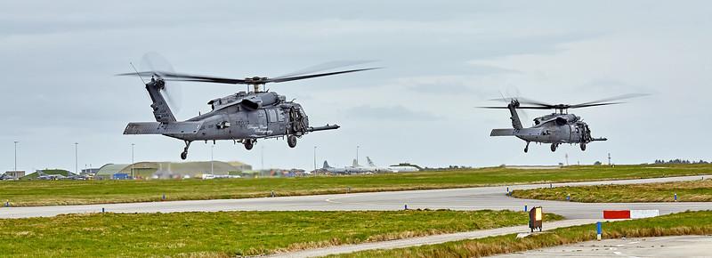 USAF Sikorsky HH-60G Pave Hawk (89-26208) at RAF Lossiemouth - 13 April 2016