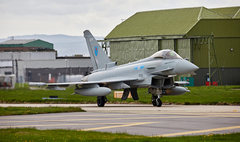 Eurofighter Typhoon FGR.4 (ZK314) RAF Lossiemouth - 11 May 2018