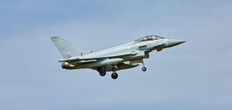 Eurofighter Typhoon FGR.4 (ZK333) at RAF Lossiemouth - 2 July 2018
