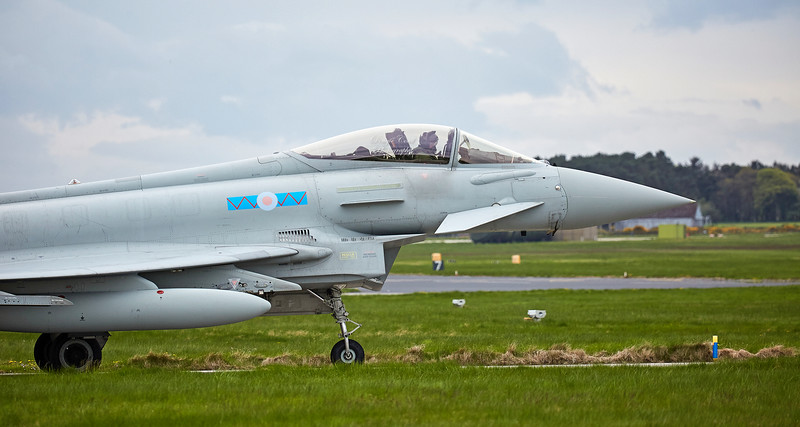 Typhoon FGR4 (ZK314) at RAF Lossiemouth - 9 May 2018