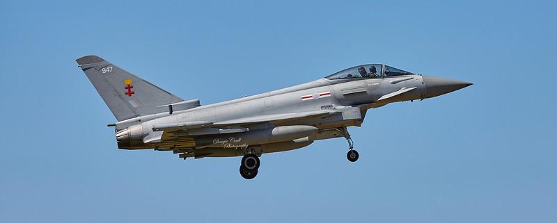 Eurofighter Typhoon FGR.4 (ZJ947) at RAF Lossiemouth - 5 July 2018