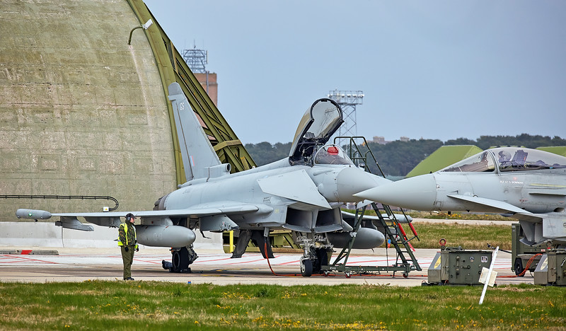 RAF Eurofighter Typhoon FGR.4 (ZK322) at RAF Lossiemouth - 13 April 2016
