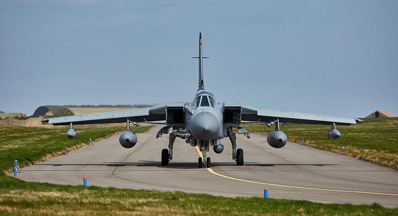 Tornado at RAF Lossiemouth - 12 April 2016