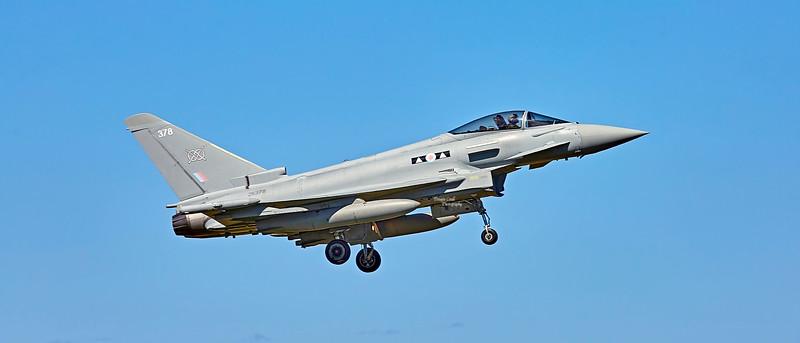 Royal Air Force Eurofighter Typhoon FGR.4 (ZK378) at RAF Lossiemouth - 4 July 2018
