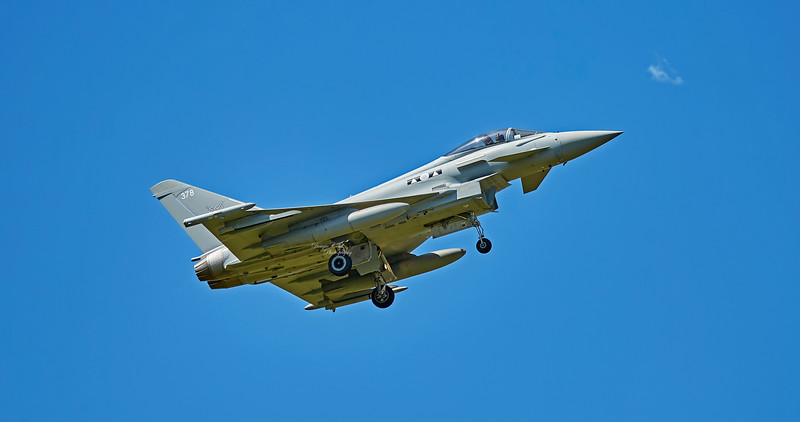Eurofighter Typhoon FGR.4 (ZK378) at RAF Lossiemouth - 5 July 2018