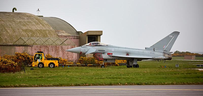 British Aerospace Typhoon FGR4 (ZK328 ) at - RAF Lossiemouth - 11 May 2018