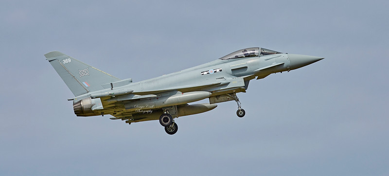 RAF Eurofighter Typhoon FGR.4 (ZK369) at RAF Lossiemouth - 2 July 2018