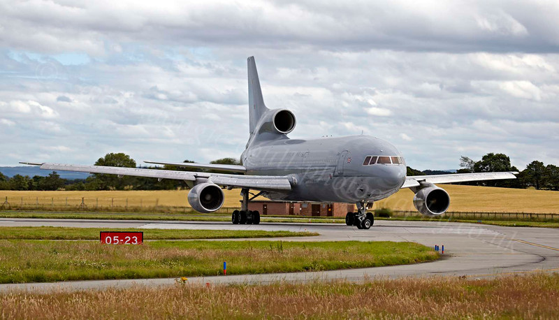 Lockheed Tristar - Lossiemouth - 9 August 2012