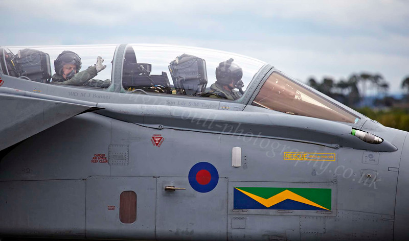 Tornado and Crew - Lossiemouth - 9 August 2012