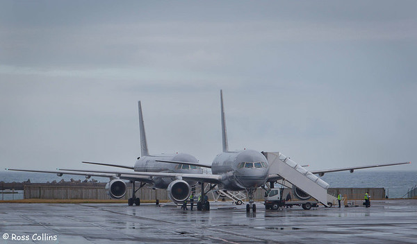 RNZAF B757-200 Aircraft, Wellington International Airport, 16 November 2012