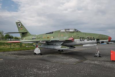 2019-04-27 EB-344 Republic F84 Thunderstreak German AIr Force
