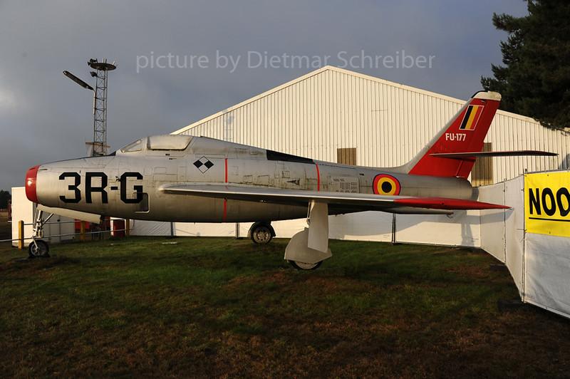 2013-09-12 FU-177 Republic F-84F Thunderstreak Belgian Air Force