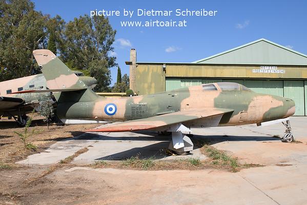 2021-09-04 Republic F84 Thunderstreak Hellenic Air Force