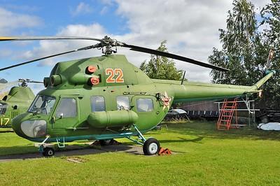 """Mil (PZL-Swidnik) Mi-2 Hoplite """"22 Red"""""""