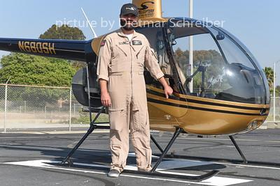 2015-02-05 N680SH Robinson R22 Star Helicopter