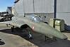 """Aalborg Forsvars- og Garnisonsmuseum on April 4, 2013. Royal Dansih Air Force Saab F-35 Draken """"A-010"""" (cn 35-010)."""