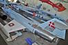 "Aalborg Forsvars- og Garnisonsmuseum on April 4, 2013. Royal Danish Air Force Canadair CF-104 Starfighter (CL-90) ""R-851"" (cn 683A-1151/104851/RCAF 12851)."