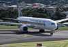 SIA B777-212(ER) arrival at Wellington, 21 January 2018