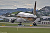 SIA B777-200 arrival at Wellington, 24 October 2016