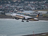 SIA B777-200 departure from Wellington, 17 November 2017