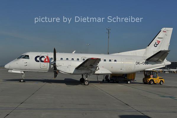 2011-09-02 OK-CCD Saab 340 Central Connect