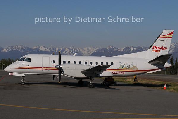 2020-05-30 N665PA Saab 340 Penair