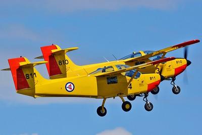 """Saab MFI-15 Safari """"811"""" & """"810"""""""