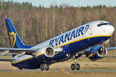 Sandefjord Airport Torp (TRF) on November 18, 2005. Ryanair Boeing 737-8AS EI-DAY (cn 33558/1441).