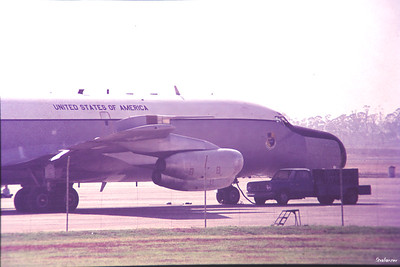 Copy From Slide 0271 Boeing EC-135N  c/n 18237  61-0330 Jan Smuts, Kempton Park, South Africa,      05/12/1973 USAF Apollo (later Advanced) Range Instrumented Aircraft (ARIA)  Supporting Skylab I  This work is licensed under a Creative Commons Attribution- NonCommercial 4.0 International License.