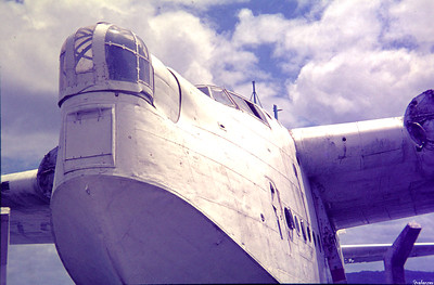 Copy From Slide 0261 Short Sunderland MR5  c/n SH.1473b  NZ4114 Whangerei, New Zealand,      11/71 RNZAF  This work is licensed under a Creative Commons Attribution- NonCommercial 4.0 International License.