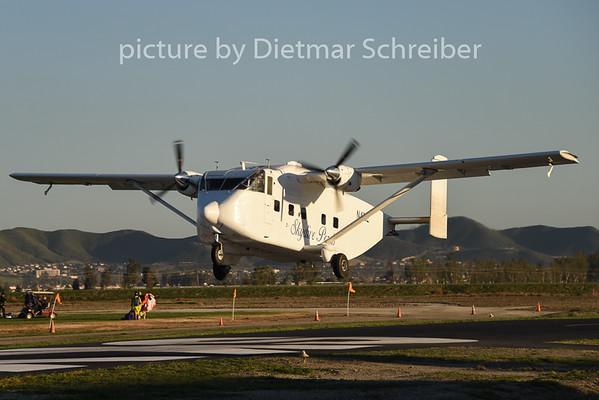 2015-02-09 N4NE SC7 Skyvan Skydive Perris