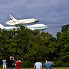 Space Shuttle Endeavour Aboard NASA 905 during landing approach