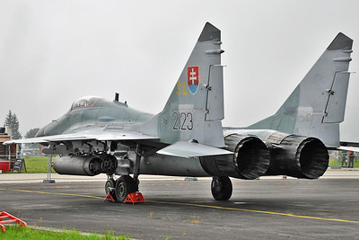 "MiG-29AS Fulcrum-A ""2123"""
