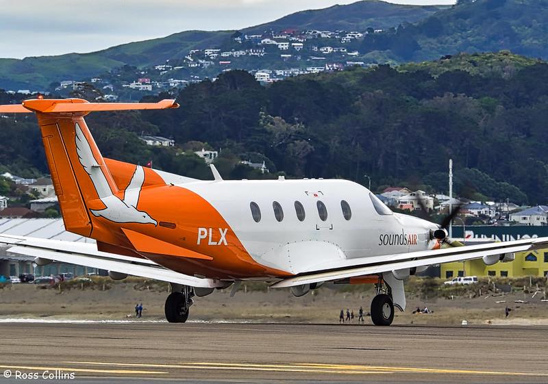 Sounds Air Pilatus PC-12 at Wellington, 24 October 2016