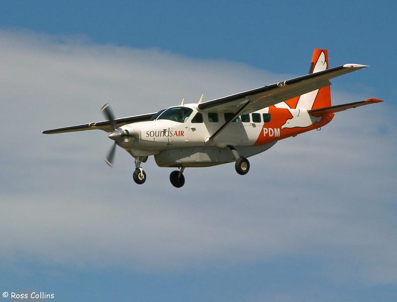 Sounds Air Cessna 208 Caravan at Wellington, 24 February 2005