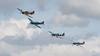 BBMF, Battle of Britain Memorial Flight, Hawker, Hurricane, Hurricane MK IIc, LF363 (BBMF), PM631, PS853, PS915, RIAT 2007, Spiffire PR Mk.XIX, Spitfire, Supermarine